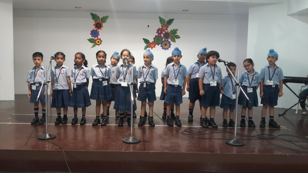 Inter Class Singing competition (I-II)