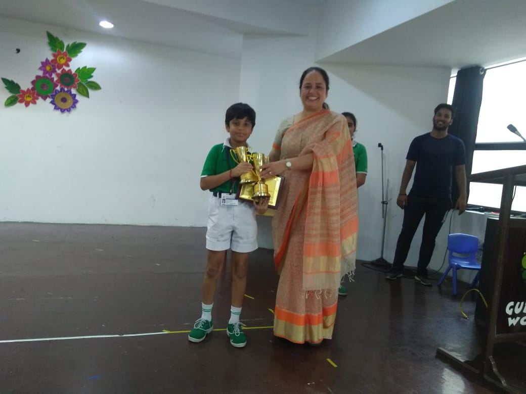 Inter Class Dance Competition (III-V)