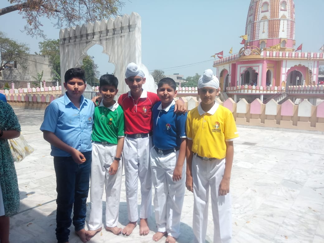 Visit to Gurudwara Nada Sahib and Temple