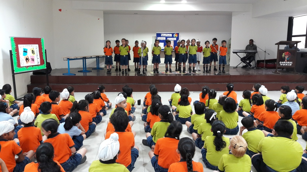 Special Assembly on Earth quake Awareness Week