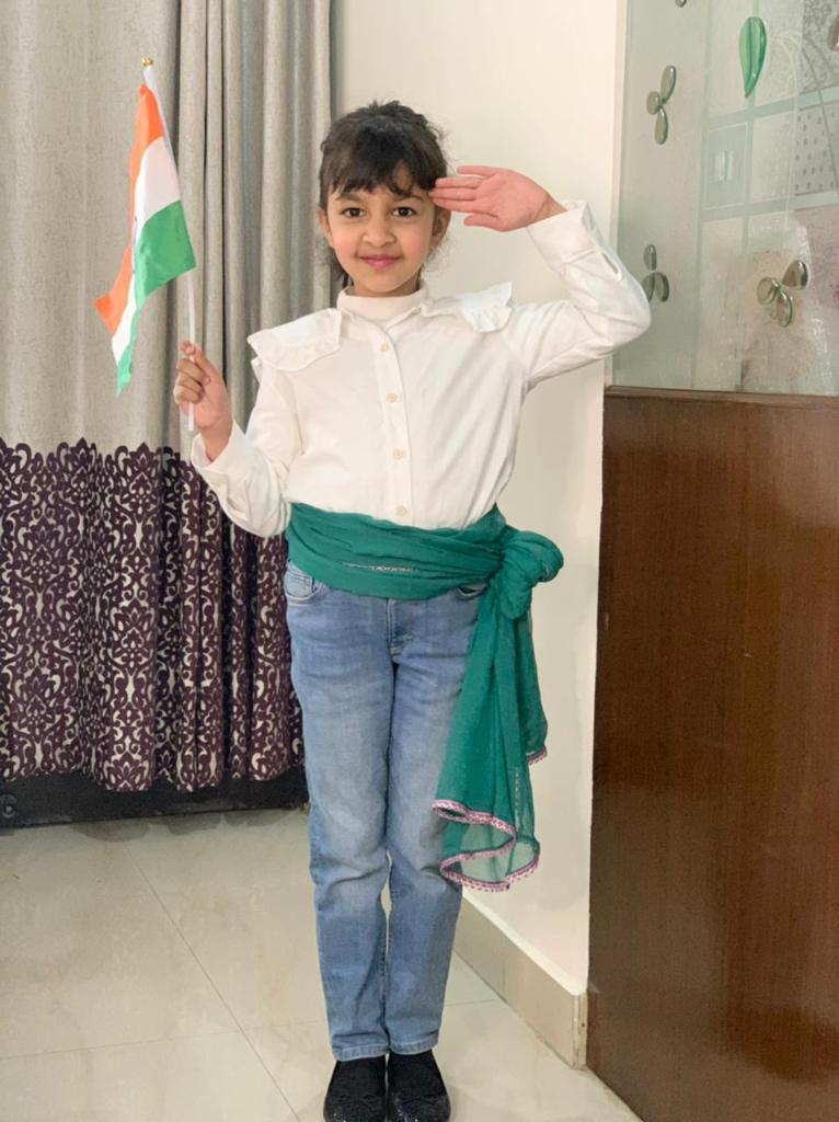 Special Assembly – Grade 1 Blue and Grade 1 Yellow  | Republic Day