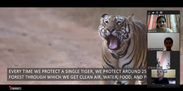 A Virtual Session on International Tiger Day